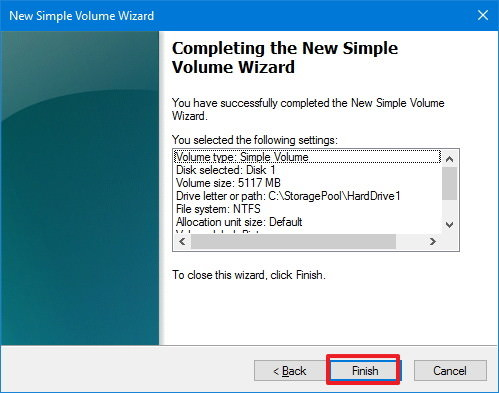 simple-volume-wizard-end